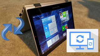 How to sync android device to windows 10
