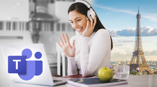 How to change background on microsoft teams.?