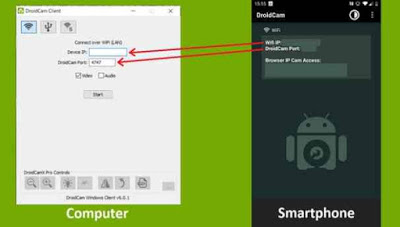 use android phone as webcam, droidcam wireless webcam, use phone as webcam usb. connect webcam to android phone